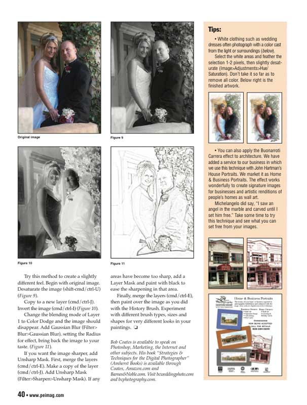 article for PEI magazine page 40