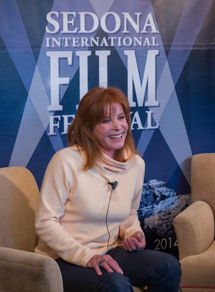 stefanie powers media photo at SIFF