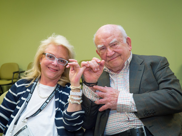 ed asner & mary fisher photo