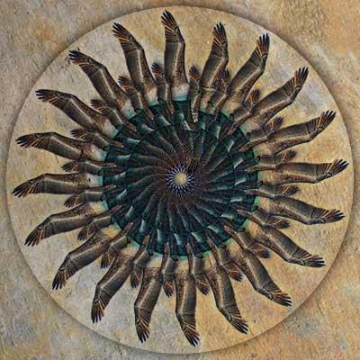 Pelican Mandala fine art image