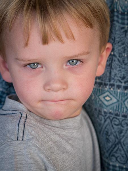 blue eyed child image