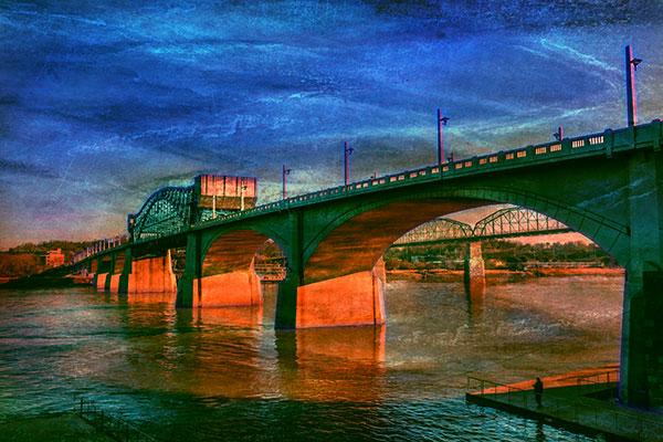 bob coates photography market street bridge art image
