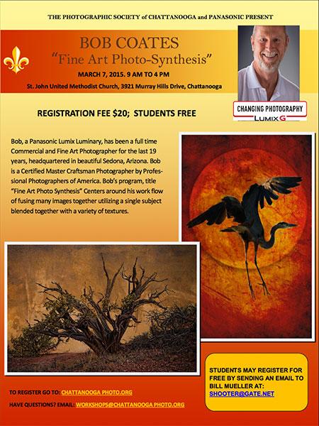 photo seminar flyer
