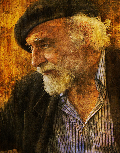 artist painterly image from photography