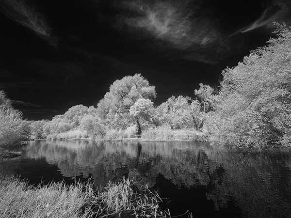 oak creek infrared photo