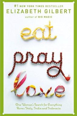 eat pray love book cover