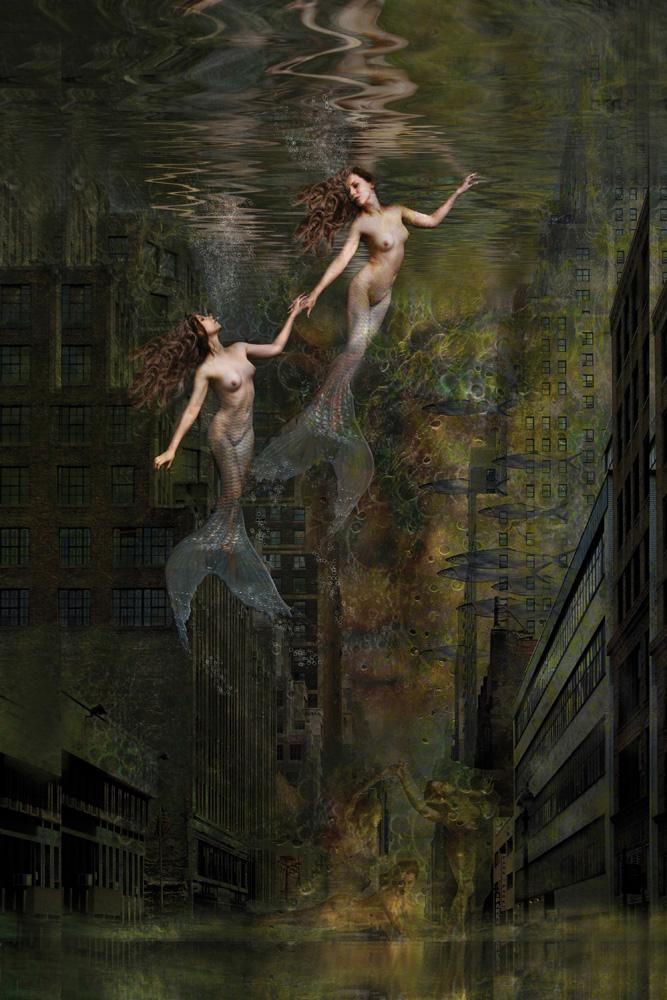 urban mermaids by thom rouse