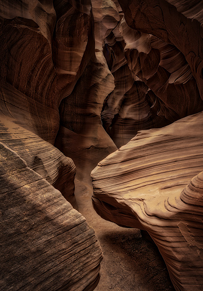 bob coates photography slot canyon photo