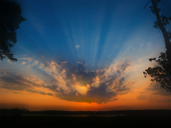 delaware sunrise photo