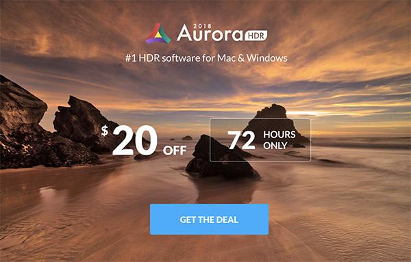aurora hdr deal logo