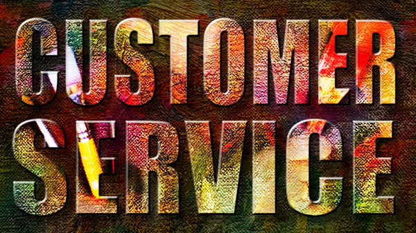 customer service graphic