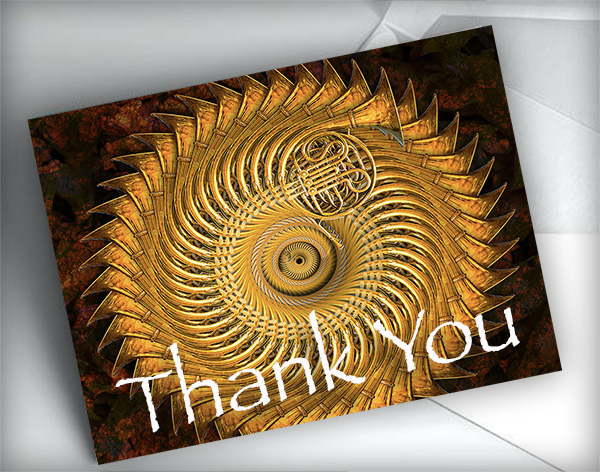 thank you card image