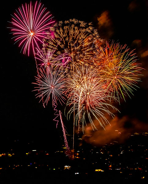 fireworks cottonwood arizona 2020