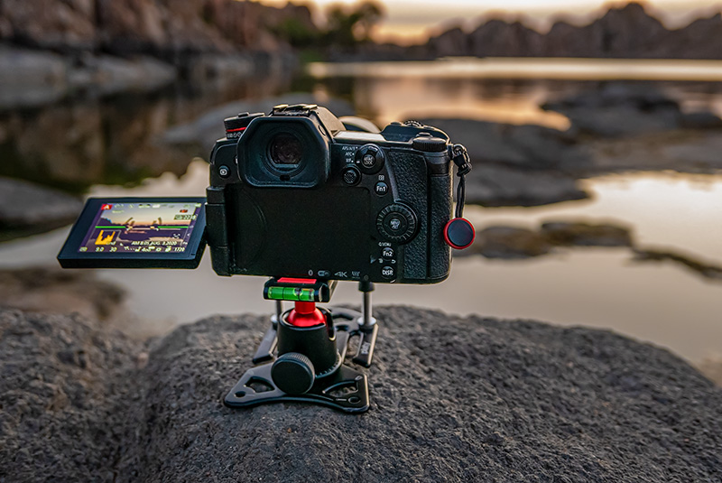 platypod tripod at watson lake prescott arizona