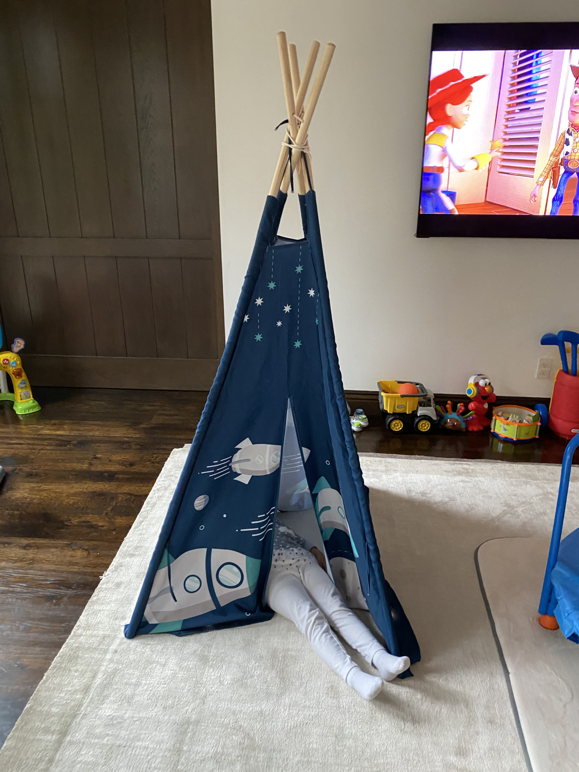 Quarantine Quiet Places For Kids – Teepee
