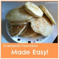 Homemade Pancakes - Made Easy