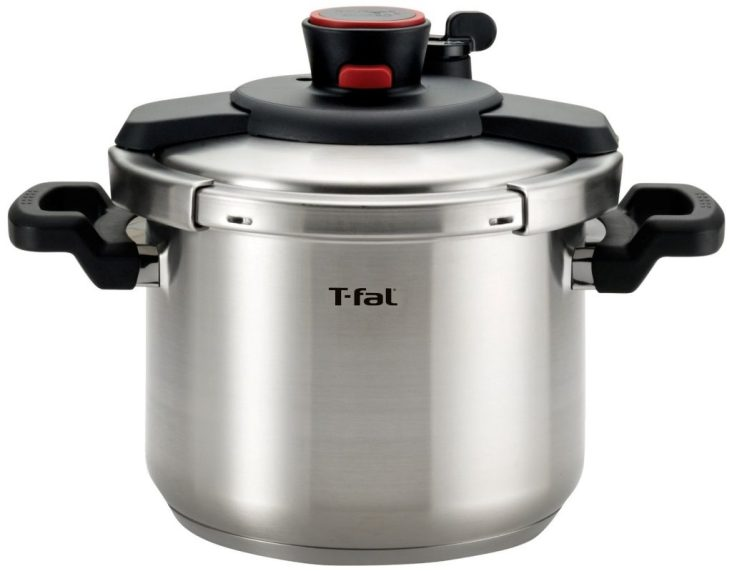 T-fal P45007 Clipso Stainless Steel Pressure Cooker Cookware