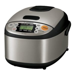 Zojirushi NS-LAC05XT Stainless Steel Micom 3-Cup Rice Cooker and Warmer