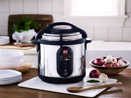 Efficiency of pressure cookers
