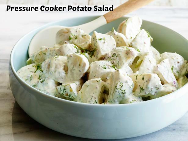 Pressure cooker potato salad