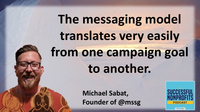 Michael Sabat Successful Nonprofits Podcast