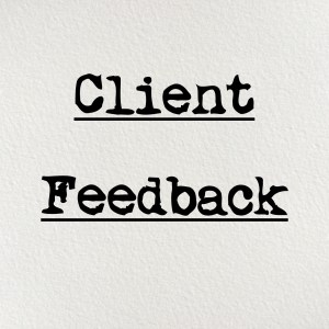 Client Feedback, nonprofit consultants