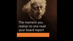 Write a Board Report Your Board Members Want to Read