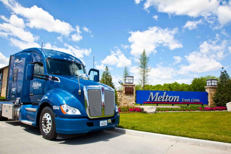 melton trucking, transportation, company profile, jobs for felons, does melton trucking hire felons