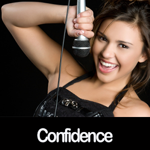 how to be more confident singing