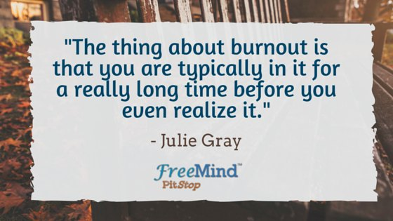 julie gray quote