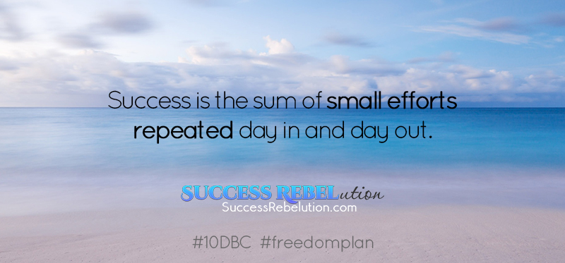Setting Yourself Up for Success – Day 5 #10DBC