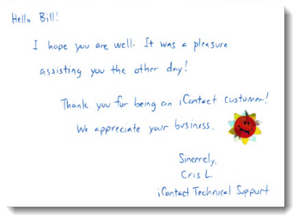Check Out This Real Life Thank You Note SuccessTrackESQ