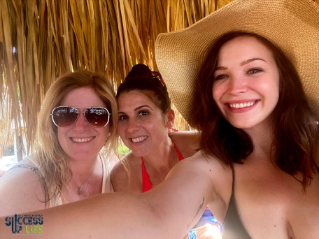 Kate, Dr. Candice and Julia in Mexico