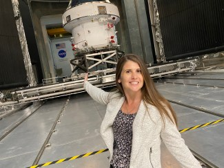 Dr. Candice McDonald at NASA