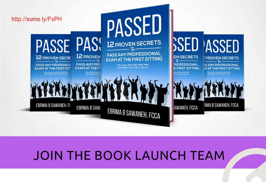 New Book : 12 Secrets to Pass any Professional Exam