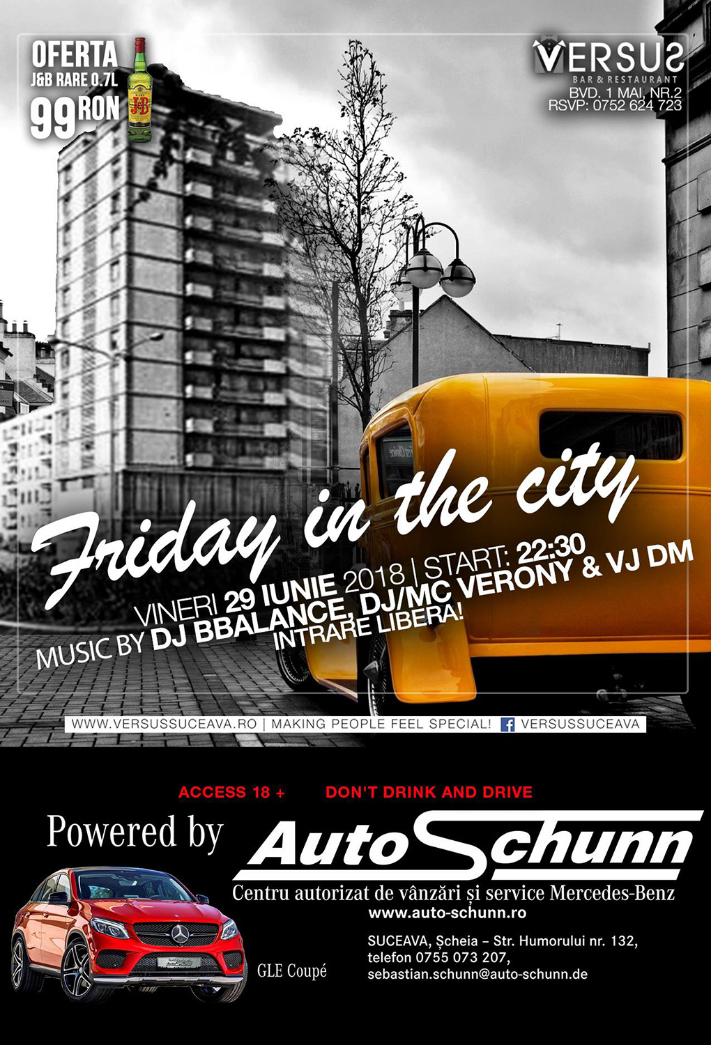 Friday in the city