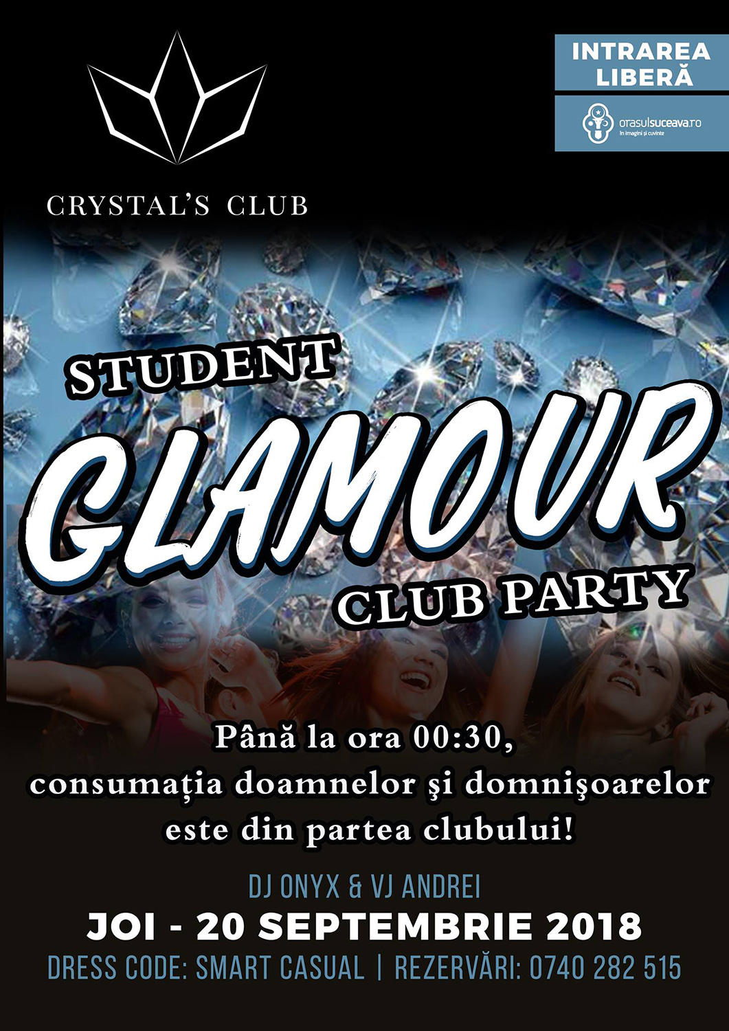 Student Glamour Club Party