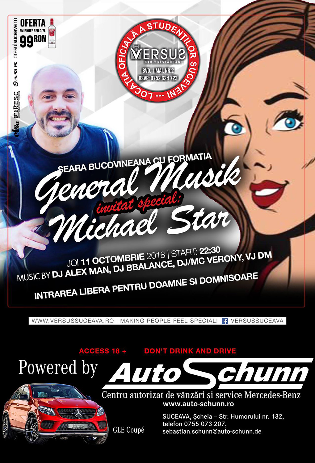 Formația General Musik și Michael Star