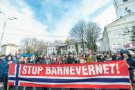 protest familia Bodnariu Suceava11