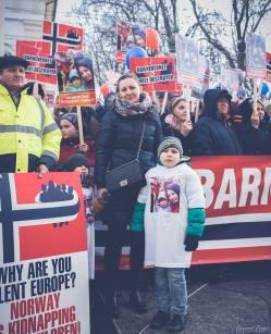 Protest pentru familia Bodnariu Suceava 11