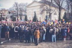 Protest pentru familia Bodnariu Suceava 7