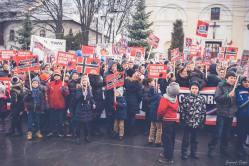 Protest pentru familia Bodnariu Suceava14