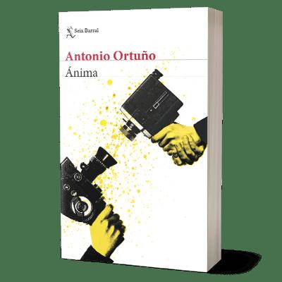 Portada libro Ánima de Antonio Ortuño
