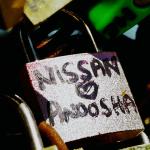 Valentine's Day Lock Nissan Hearts Anoosha