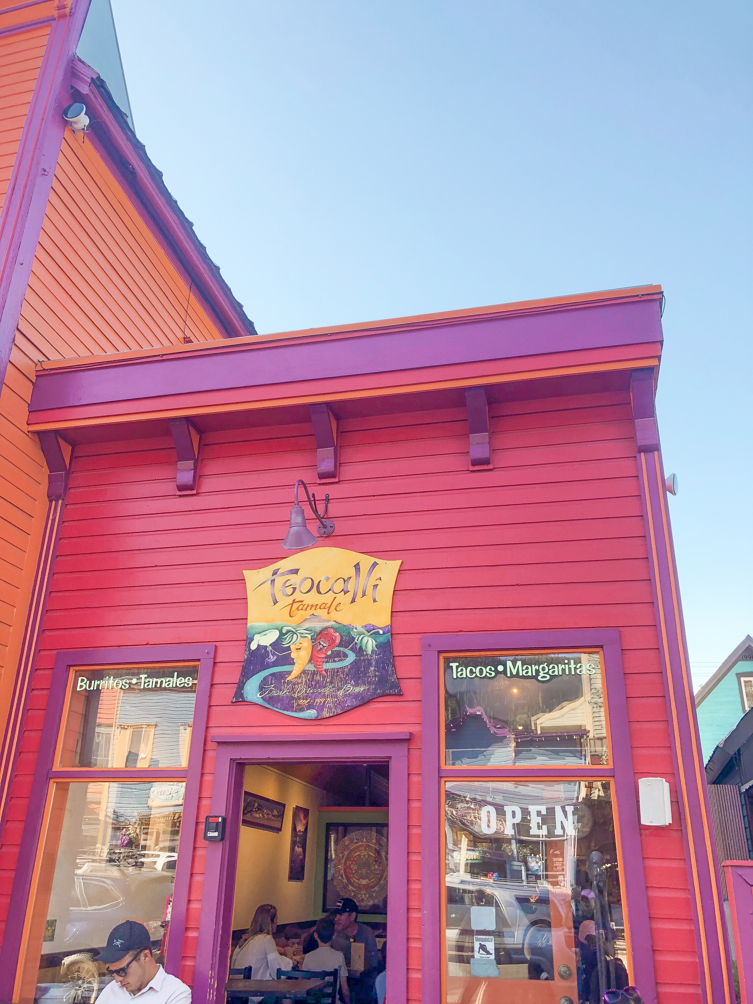 Teocalli Tamale, a Mexican restaurant in downtown Crested Butte.