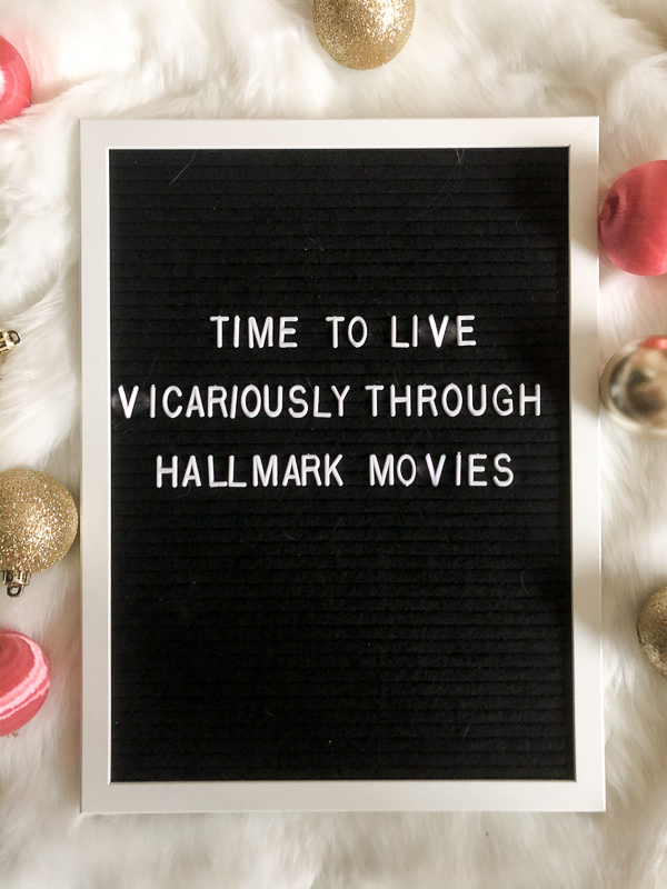 Time to live vicariously through Hallmark Movies