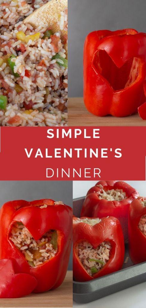 Simple Valentine's Day Dinner
