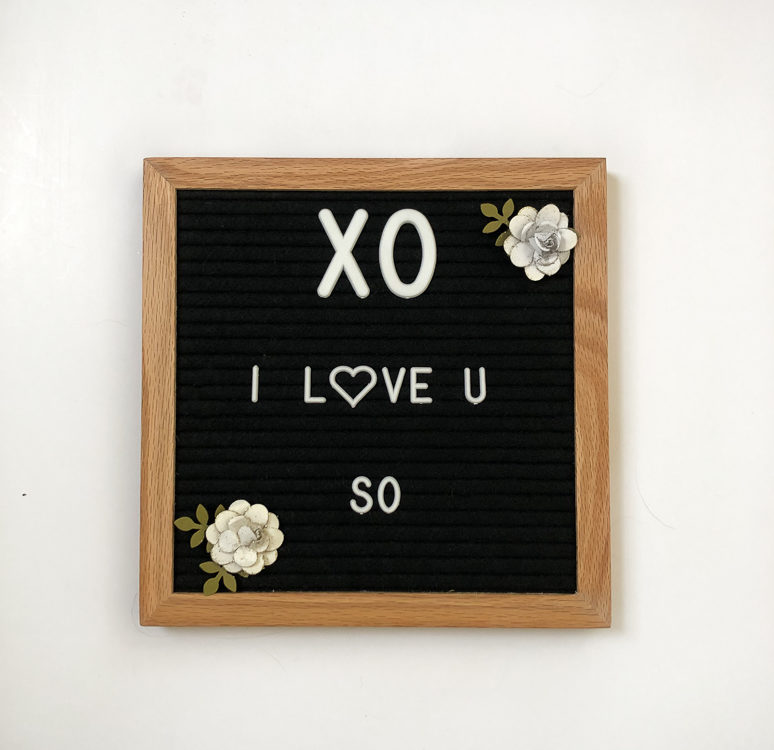 XO I Love you so
