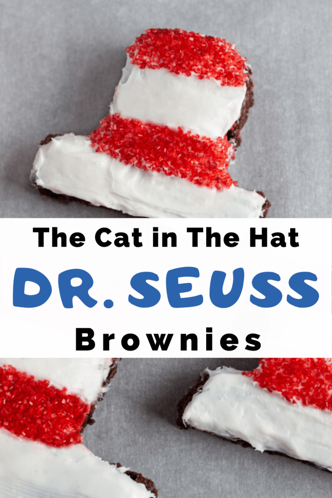 The Cat in The Hat Dr. Seuss Brownies