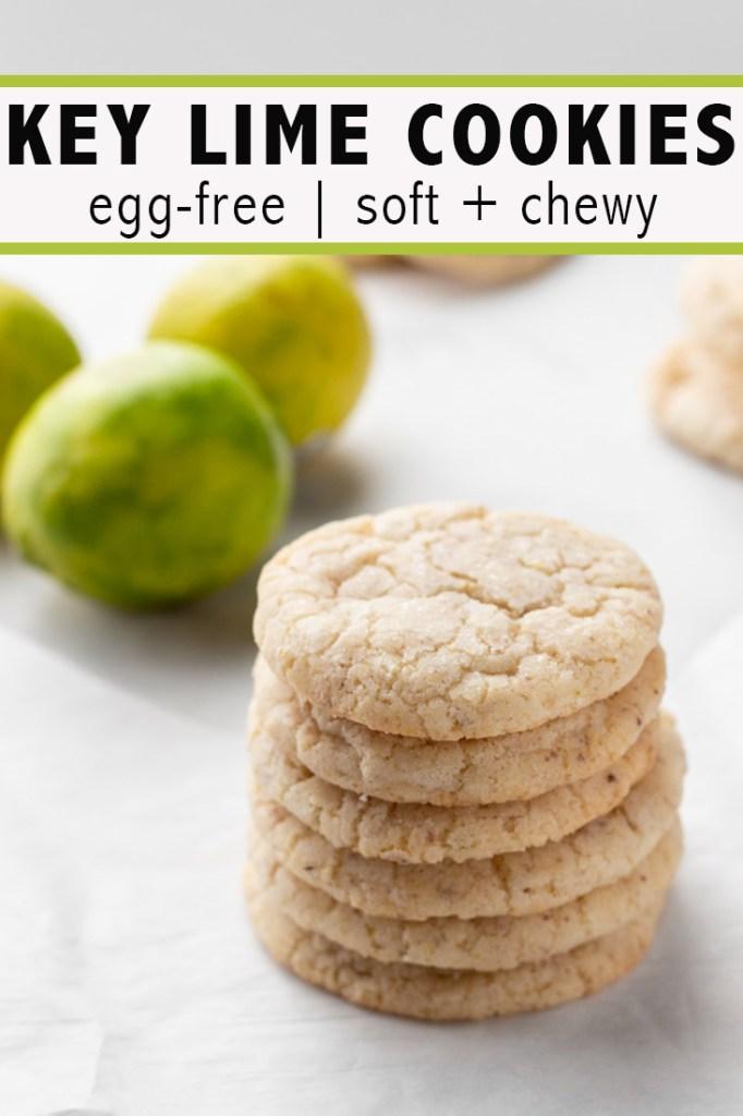 Key Lime Sugar Cookies Pinterest Pin